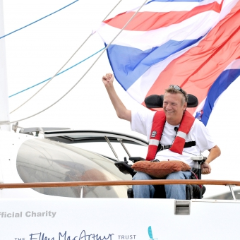 Cordon Rouge Club - WORLD RECORD PLANS TO CIRCUMNAVIGATE THE GLOBE FOR CORDON ROUGE CLUB MEMBER GEOFF HOLT
