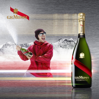 Mumm Events - Launch of Snowstorm by Mumm campaign in New York