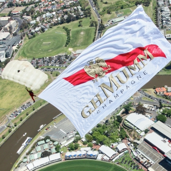 Mumm Events - THE MOST DARING DELIVERY IN AUSTRALIA