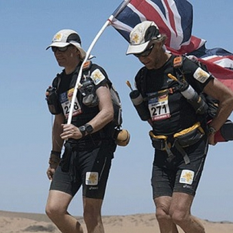 Cordon Rouge Club - MARATHON DE SABLES 2016 – A YEAR SINCE CORDON ROUGE CLUB MEMBER SIR RANULPH FIENNES BECAME ITS ELDEST BRITISH COMPETITOR