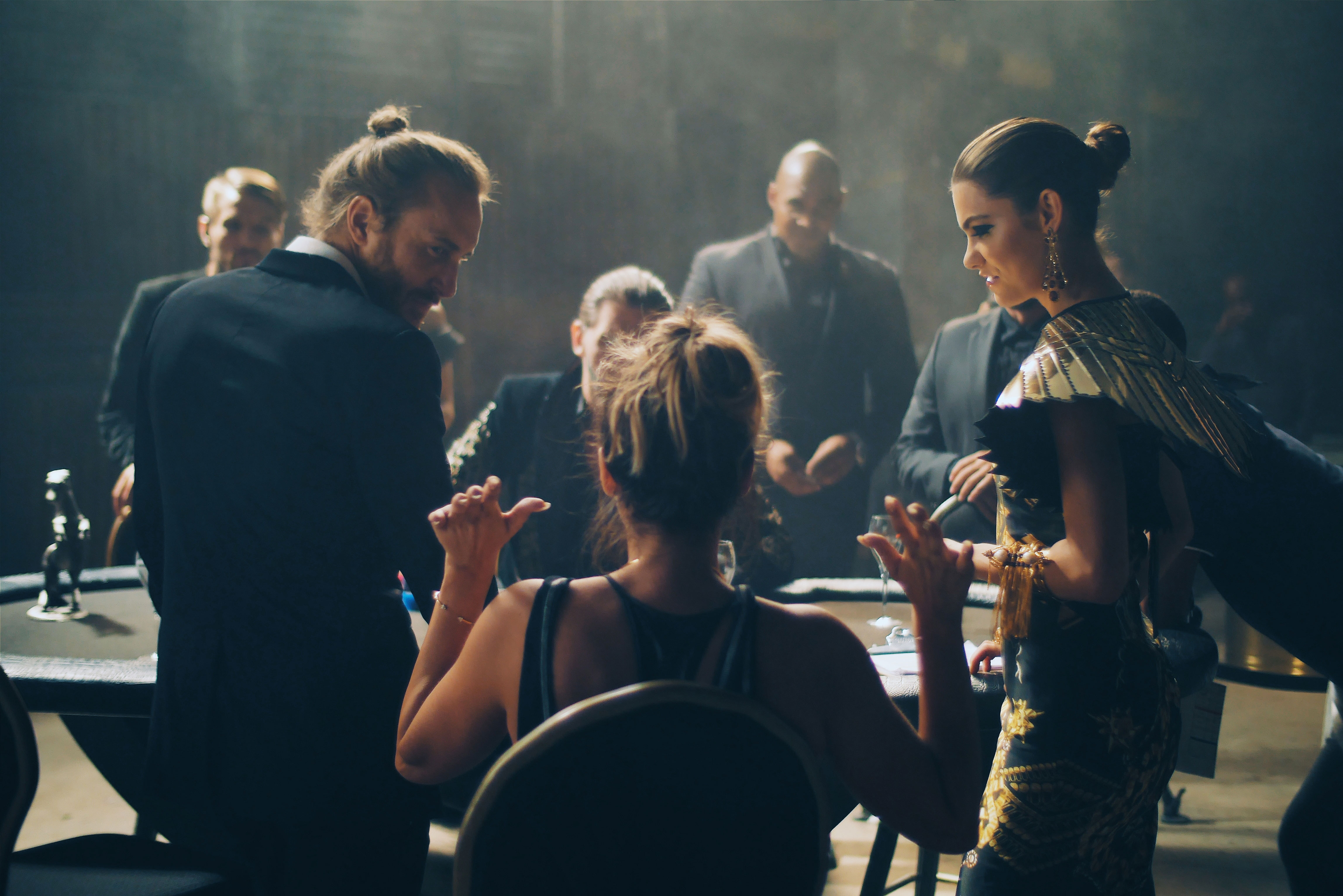 BEHIND THE SCENES OF DAVID GUETTA'S NEW VIDEO BANG MY HEAD