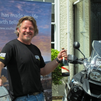 Cordon Rouge Club - The Long Way Back for the Cordon Rouge Club's Charley Boorman