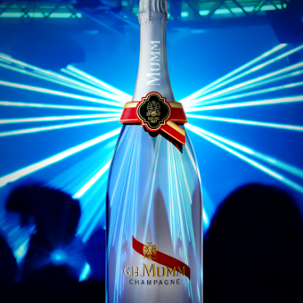 Mumm Events - MUMM LAUNCHES THE WORLD'S FIRST CONNECTED CHAMPAGNE BOTTLE IN MONACO