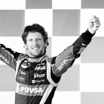 Mumm Events - Romain Grosjean's podium souvenirs