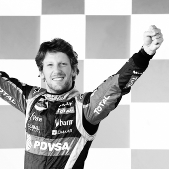 Mumm Events - Romain Grosjean's podium souvenirs